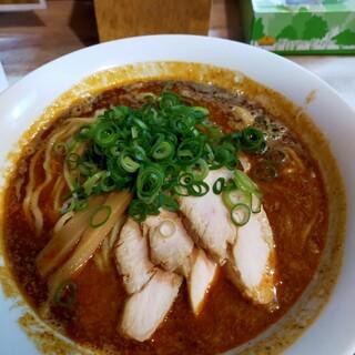 川西麺業 - 料理写真:出ました!担々麺!850円