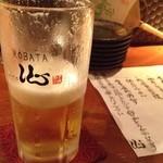 ROBATA 二代目 心 - 生ビール♪