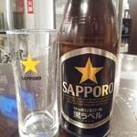 146140496 - 瓶ビール中は黒ラベル500円が火曜木曜半額