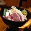 花吉祥 - 料理写真:定食。一人鍋。(鴨鍋)