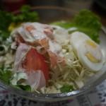 のぶちゃん - のぶちゃんサラダ