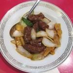14615820 - 牛肉の黒胡椒炒め