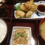 Hakatanyukomatsu - 鶏天ランチ