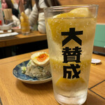 Yakitoriosen daisansei - 自家製レモンサワー 490円