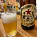 Yakitoriosen daisansei - 赤星中瓶 560円