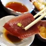 マルハチ商店 - お好み定食:刺し身