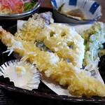 マルハチ商店 - お好み定食:天ぷら