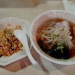 Ouhou - 「ラーメン+焼飯(小)」500円