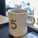 5 クロスティーズ コーヒー - 5CCブレンドコーヒーR340円