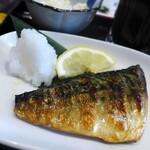 マルハチ商店 - お好み定食:サバ焼き