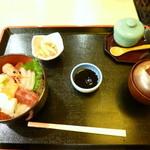 竹なか - 海鮮丼 1200円