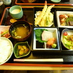 竹なか - 松花堂弁当 1200円