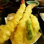 竹なか - ボリュームありの天ぷら!