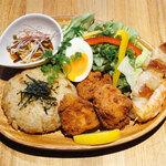 鉄板串焼き 創作小皿 咲蔵 -