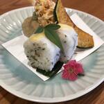 蕎麦切り よしむら - 押し寿司