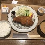 Front du CHATON - ロースかつ定食/並@1,500円