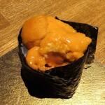鮨割烹 廉 - ウニ