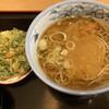やしま - 料理写真:カレーそば+春菊天