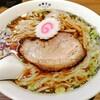 Chuukasoba rokkandou - 料理写真:中華そば白750円に味玉100円をトッピング。ランチタイムは麺大盛り無料です!