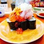 回転寿し活鮮 - 料理写真:山盛り寿司