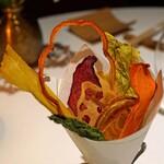 レフェルヴェソンス - 野菜クリスプのブーケ