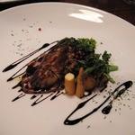 ラ サヴール - 仏産鴨とフォアグラのソテーバルサミコソース
