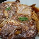 金田屋 - 鯛のかぶと煮 900円