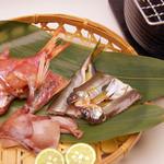 金田屋 - 自家製干物の盛り合わせ 1680円