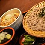 おらが蕎麦 - カツ丼定食(791円+税)2021年2月