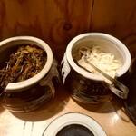 博多一瑞亭 三田店 - 辛子高菜と白い生姜