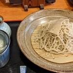 手打ちそば処 椿屋 - 料理写真:合重ね   ¥1250      石臼挽き蕎麦