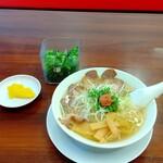 ラーメン魁力屋 - 料理写真:梅しそラーメン