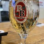 クラフトビール&広島お好み焼き dspeed - ジンジャーエール