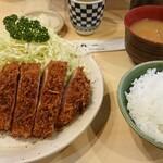 146178841 - 小上ロースカツ定食1900円(税込)