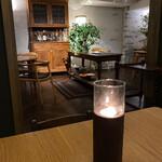 el Bau Decoration - いつもながら友人邸に招かれたような落ち着いた店内。