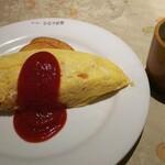 キッチンひらやま亭 - 料理写真:ふわふわ卵のオムライス 1100円