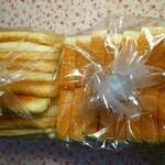 BOUL'ANGE - 「北海道産小麦食パン」1斤8枚切り340円(340g以上)