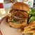 モッシュ アンダーザダイナーズスタンド - 料理写真:Mosh burger…1350円+税