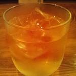 串カツ酒場 ナニワ屋 - 大蔵梅酒(ロック)