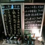 茅場町居酒屋 つまみ菜 - 入口