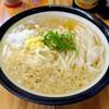 うどんや 大門 - 料理写真:かけ(ひやあつ中)¥510