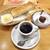コメダ珈琲店 - 料理写真:コメダブレンド & モーニングBセット & おぐらあん