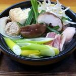 ひつじ家 - 料理写真:一人鍋(濃厚鶏白湯鍋)
