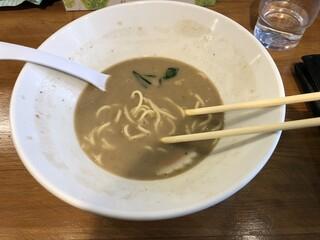 つけ麺 弐☆゛屋 - 完食