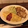 ヤナギ - 料理写真:オムドラと生姜焼きセット(税込み1100円)