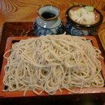 kabutochoumaruya - もりそば500円
