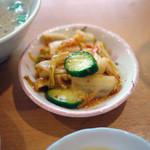 餃子の店 味の横綱 - キムチ~☆