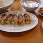 餃子の店 味の横綱 - 餃子定食B~☆