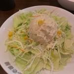 CoCo壱番屋 - ポテトサラダ280円(2012/09)