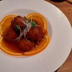 ドラゴン キッチン - 肉団子の甘酢ソース